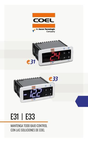 Carpeta de productos - Refrigeración E31 / E33