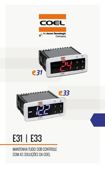 Folder de produtos - E31/E33 refrigeração